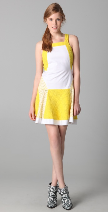 Thakoon Panel Tank Dress
