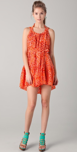 Thakoon Belted Sun Dress