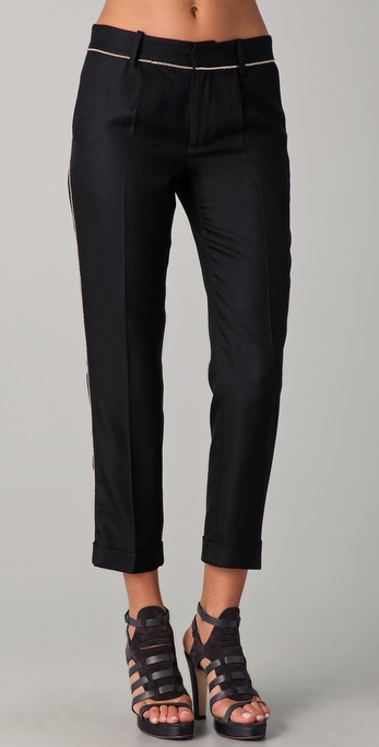 Thakoon Chain Trimmed Pants