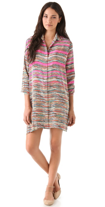 Thakoon Asymmetrical Shirtdress