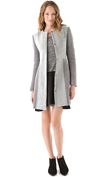 Thakoon Collarless Coat