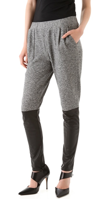 Thakoon Combo Seamed Pants