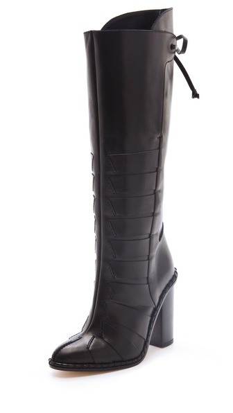 Thakoon High Heel Boots with Stitching