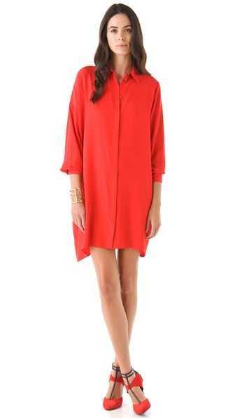 Thakoon Silk Shirtdress