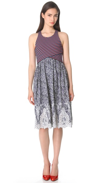 Thakoon Cross Front Dress