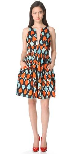 Thakoon Cinched Sleeveless Dress
