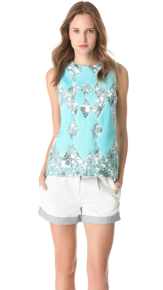 Thakoon Woven Front Top