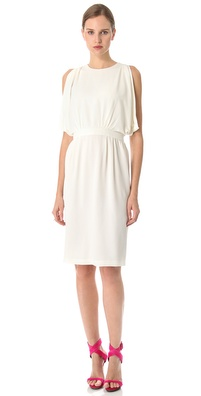 Thakoon Side Draped Dress