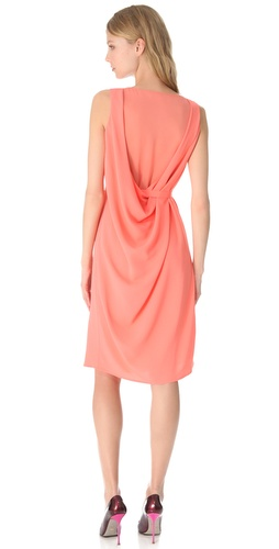 Thakoon Sheer Back Shift Dress at Shopbop.com