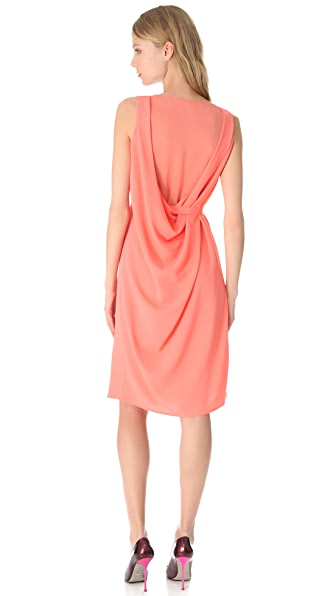 Thakoon Sheer Back Shift Dress