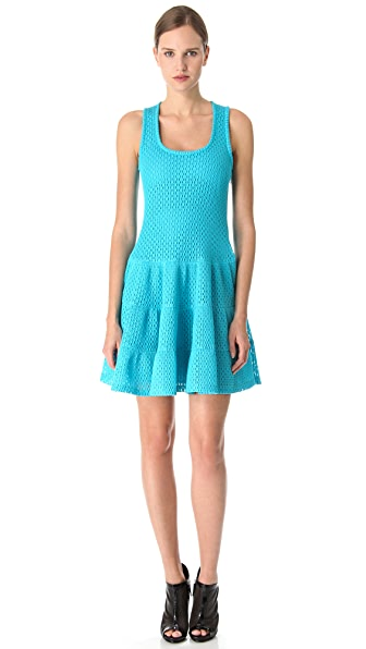Thakoon Mesh A Line Dress