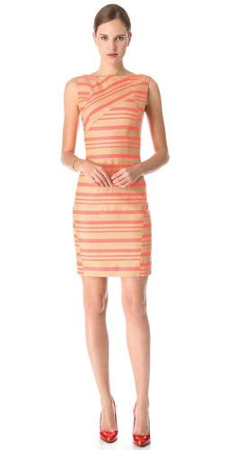 Thakoon Seamed Contrast Dress