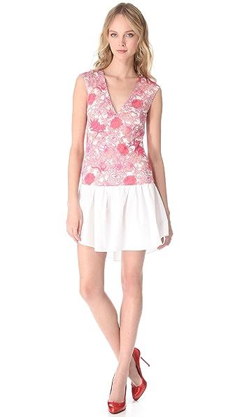 Thakoon Sleeveless Contrast Dress