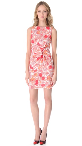 Thakoon Sleeveless Draped Dress