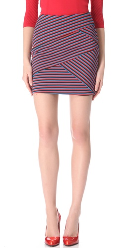 Thakoon Striped Miniskirt at Shopbop.com