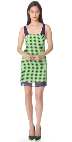 Thakoon Checked Sleeveless Dress at Shopbop.com