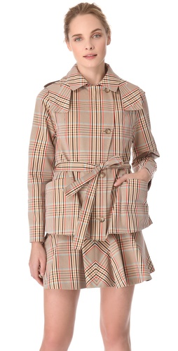 Thakoon Hooded Trench Coat at Shopbop.com