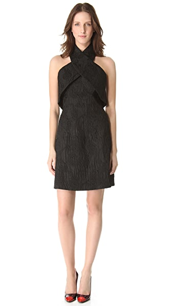 Thakoon Cross Halter Dress