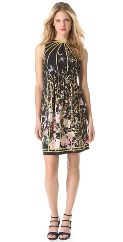 Thakoon Open Back Sleeveless Dress