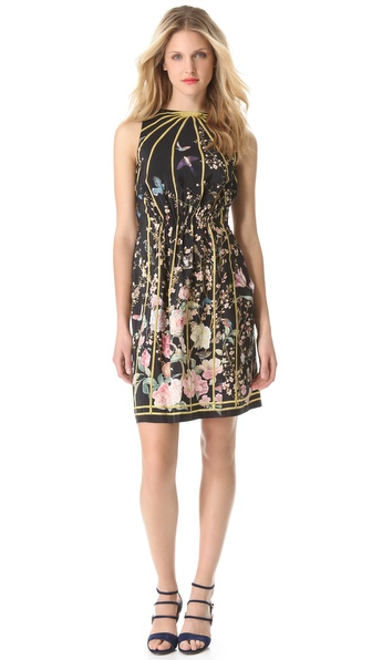 Thakoon Open Back Sleeveless Dress