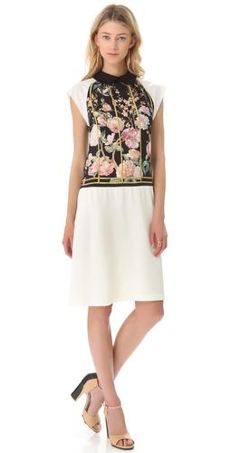 Thakoon Wing Sleeve Shirtdress