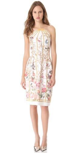 Thakoon Strapless Dress