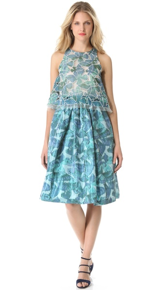 Thakoon Sleeveless A Line Dress