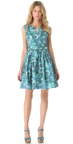 Thakoon Sleeveless Gathered Waist Dress