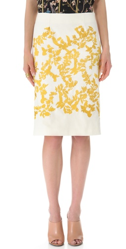 Thakoon Embroidered Skirt at Shopbop.com