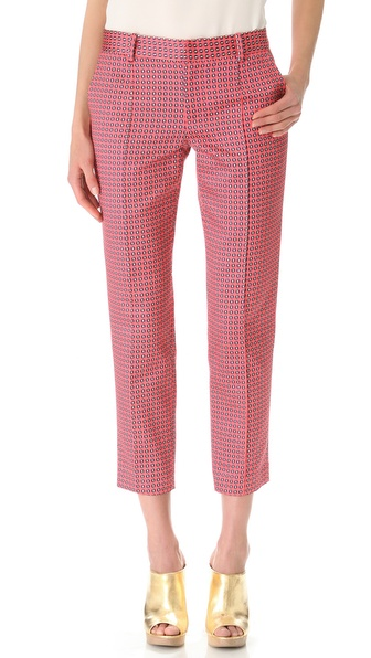 Thakoon Cropped Slim Pants