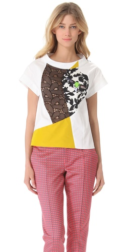 Thakoon Patchwork T-Shirt at Shopbop.com