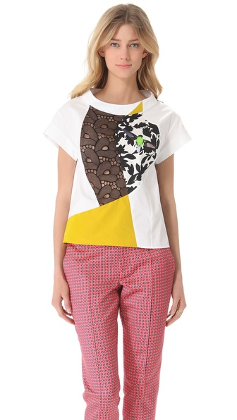 Thakoon Patchwork T-Shirt