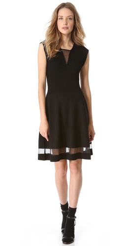 Thakoon Ribbed Bodice Dress at Shopbop / East Dane