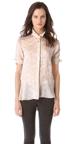 Thakoon Chiffon Combo Top at Shopbop / East Dane