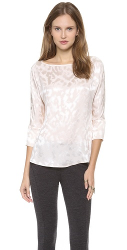 Thakoon Boat Neck Top at Shopbop / East Dane