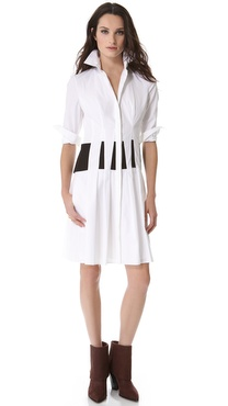 Thakoon Seamed Shirtdress