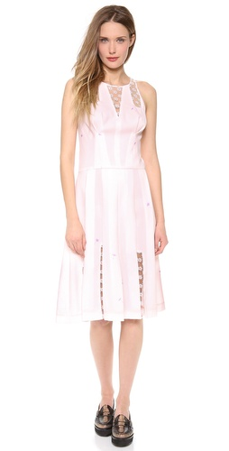 Thakoon Sleeveless Lace Inset Dress at Shopbop / East Dane