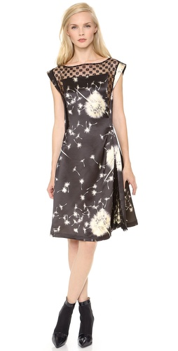 Thakoon Side Gathered Lace Inset Dress at Shopbop / East Dane