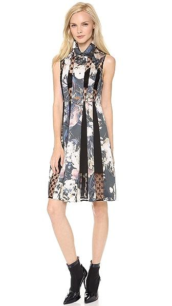 Thakoon Lace Inset Dress