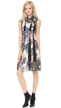 Thakoon Lace Inset Dress