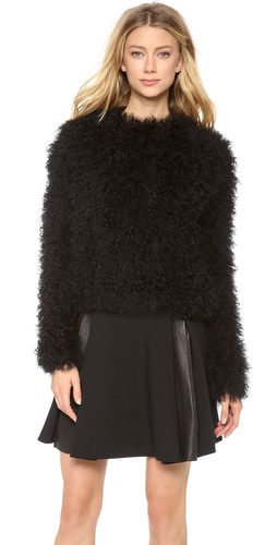 Thakoon Mongolian Fur Pullover at Shopbop / East Dane
