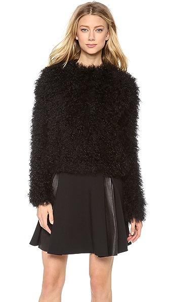 Thakoon Mongolian Fur Pullover