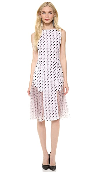 Thakoon Sleeveless Pleated Dress