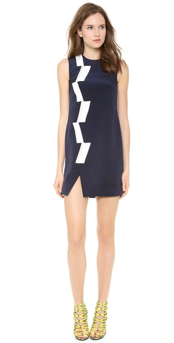 Thakoon Sleeveless Basketweave Panel Dress at Shopbop / East Dane