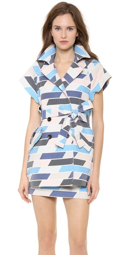 Thakoon Short Sleeve Belted Trench at Shopbop / East Dane