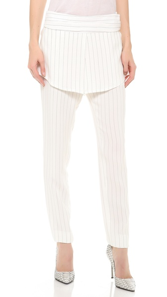 Thakoon Skirted Pants - Ivory/Black at Shopbop