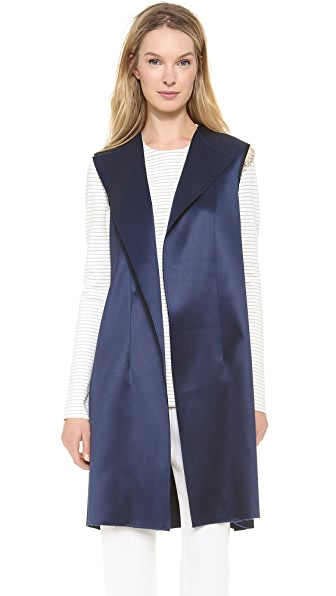 Vest With Jewel Chain (Blue)