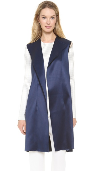 Thakoon Vest With Jewel Chain - Navy at Shopbop