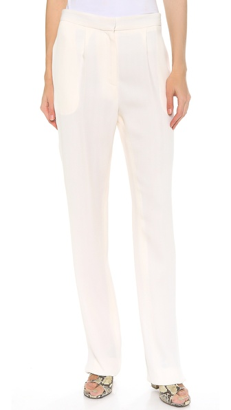 Thakoon Wide Leg Trousers - Ivory at Shopbop