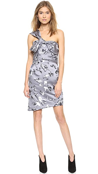 Thakoon One Shoulder Wrap Dress